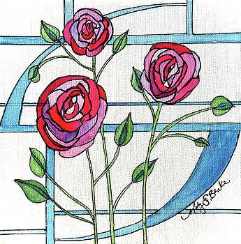 Mary Benke - Art Nouveau Roses