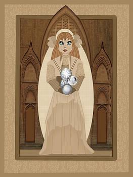 Art Nouveau wedding by Lee DePriest