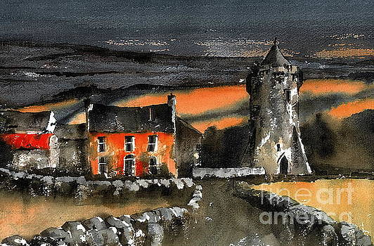 Val Byrne - Art school in the Burren, Clare