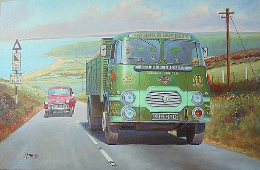 Arthur Duckett's Rowe Hillmaster on Polock. by Mike Jeffries