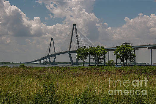 Arthur Ravenel Jr. Bridge by Day by Dale Powell