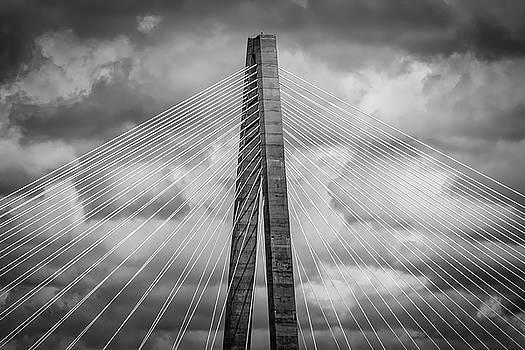 Arthur Ravenel Jr. Bridge Detail by Robert Mitchell