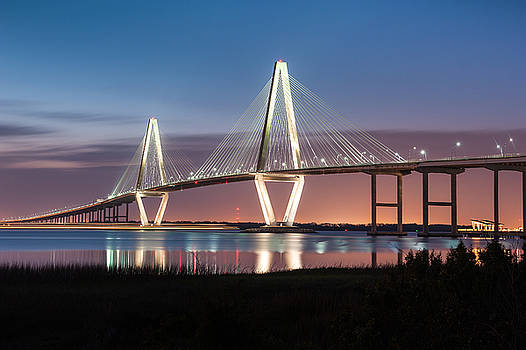 Arthur Ravenel Jr. Cooper River Bridge Charleston South Carolina by Mark VanDyke