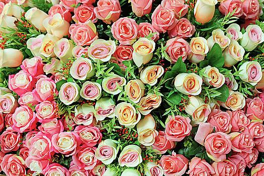 Artificial Rose Bouquet by Keattikorn Samarnggoon