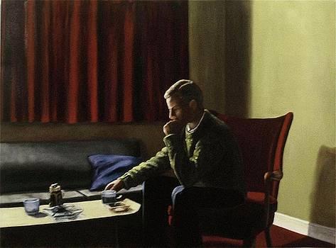 Artist as a Young Man London by Michael John Cavanagh