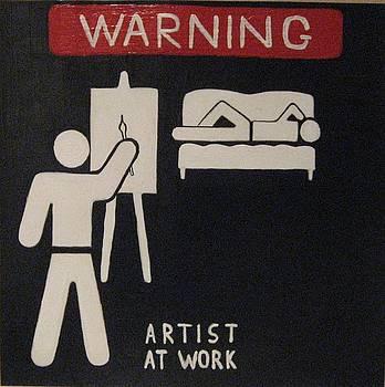 Artist at Work by Alex Spinello