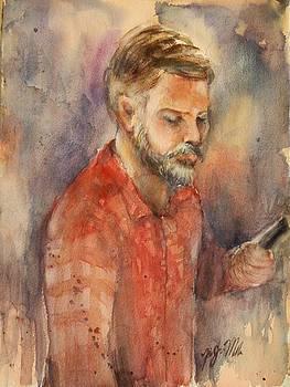 Artist At Work by Yi-Ju Miller