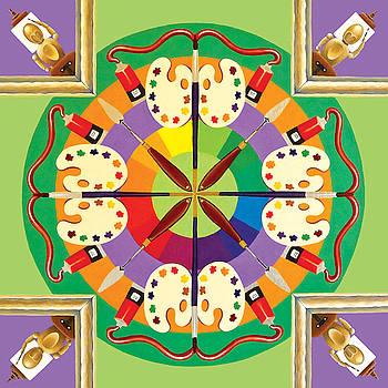 Artist Mandala by Barbara Rockhold
