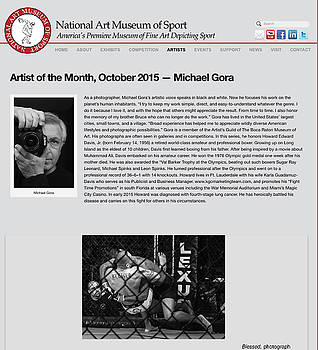 Artist of the Month, October 2015 by Michael Gora