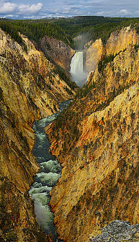 Artist Point Vertical Panorama by Greg Norrell