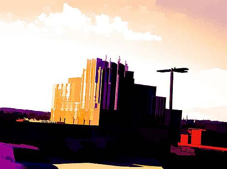 Artist Scene Of Baltimore City by Debra Lynch