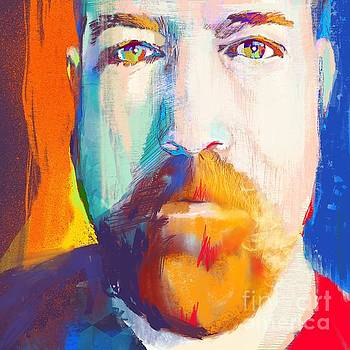 Artist Self-portrait by John Castell