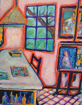 Artist Studio by Gayle Bell
