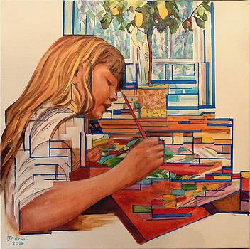 Artiste En Herbe by Danielle Arnal