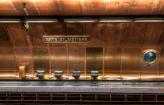 Arts et Metiers - Paris Metro by Harmeet Gabha