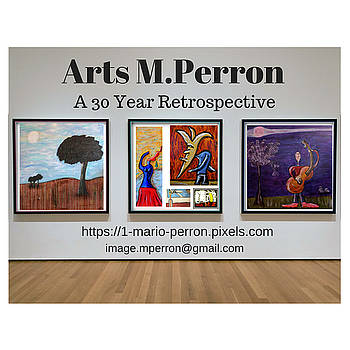 Arts MPerron Retrospective Design by Mario MJ Perron
