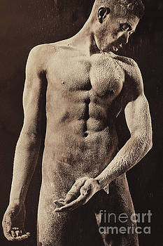 Artwork made of a Nude Male  by William Langeveld