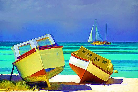 Dennis Cox WorldViews - Aruba Boats