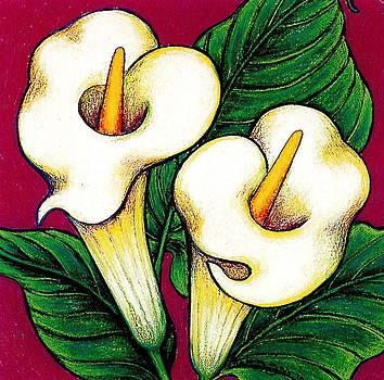 Richard Lee - Arum Lilies