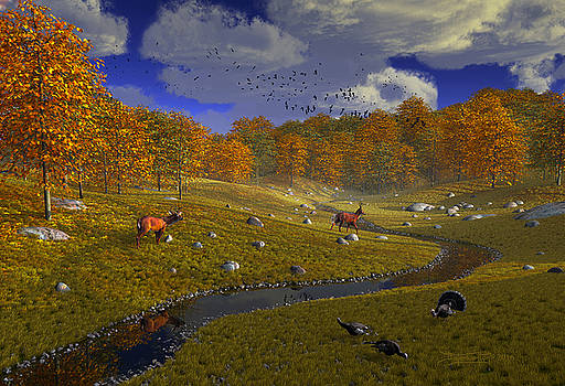 As The Leaves Will Turn by Dieter Carlton