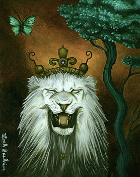 Leah Saulnier The Painting Maniac - As The Lion Laughs
