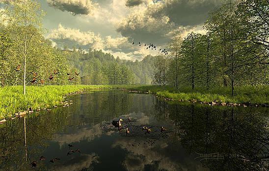 As The River Flows by Dieter Carlton