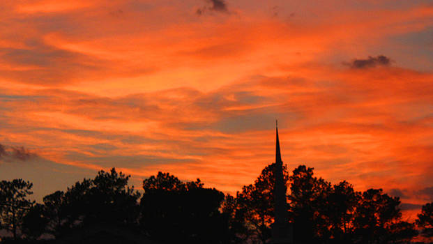 As the Sun Sets by Carolyn Ricks