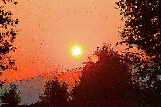 As The Sun Sets by Rick Thiemke