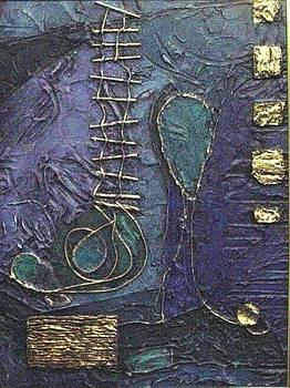 Ascending Blue by Bernard Goodman