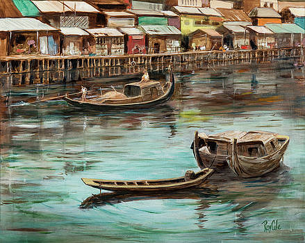Asian Congestion - Laos by Ray Cole