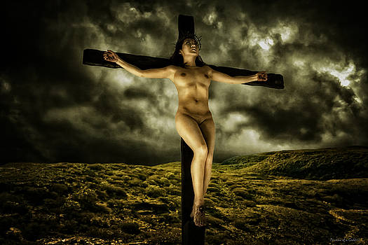 Asian Jesus Crucifix V by Ramon Martinez