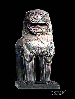 Asian Lion jGibney The MUSEUM by The MUSEUM Artist Series jGibney