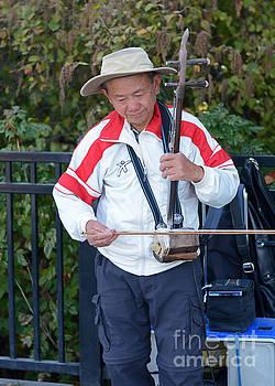 Connie Fox - Street Musician Playing Erhu