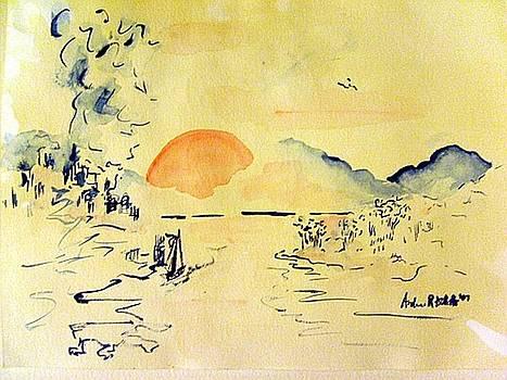 Asian Sunrise by Andrew Gillette