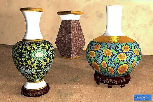 Asian Vases by Alfred Price