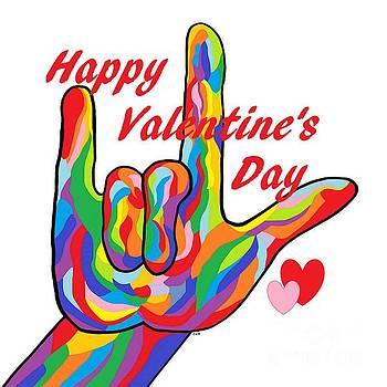ASL Happy Valentine's Day I Love You by Eloise Schneider