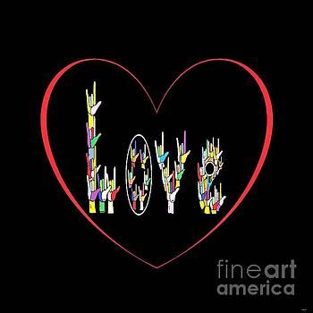 ASL Heart Full of Love by Eloise Schneider