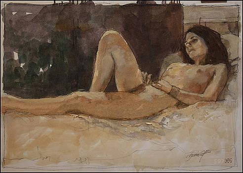 Asleep by Gavin Calf