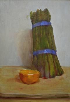 Asparagus   copyrighted by Kathleen Hoekstra
