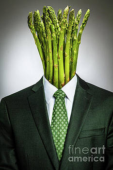 Asparagus Head by Juan Silva