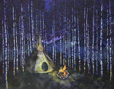 Aspen Camp by Melinda Cummings