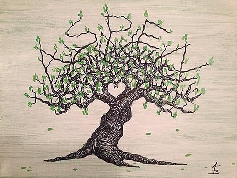 Aspen Love Tree by Aaron Bombalicki