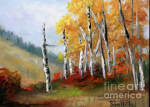 ASpens En Plein Air by Barbara Haviland