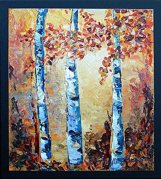 Phyllis Howard - Aspens in Glow