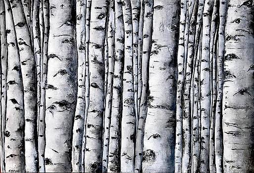 Aspens by Nancy Hilliard Joyce