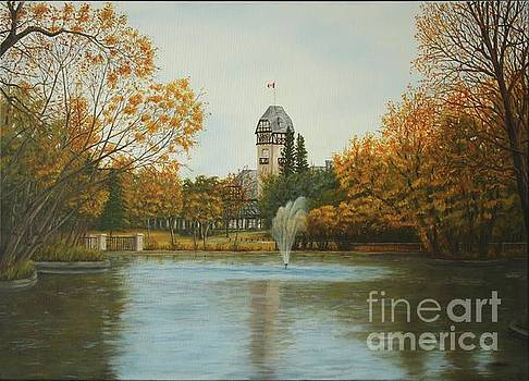 Assiniboine Park Winnipeg by Sid Ball