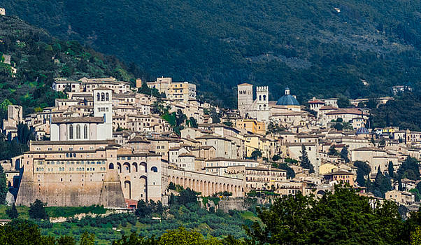 Assisi Italy by Roger Mullenhour
