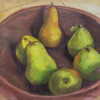 Assorted Pears by Tara D Kemp