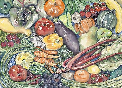 Assorted Vegetables by Annie Laurie