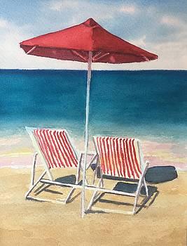 Ast the Beach by Sharon Gerber